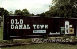 Old Canal Town Delevan NY Unused