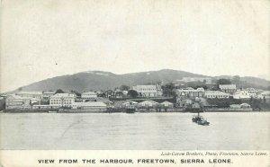 Sierra Leone - FREETOWN - Harbour Lisk-Carew Brothers, Photo postcard