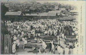 80158 -  MADAGASCAR -  Vintage Postcard -  TANANARIVE:  Zoma  Market