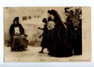 184043 FRANCE FRIANT funeral Vintage LL postcard