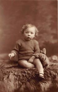 Child with stuffed animal Child, People Photo Unused