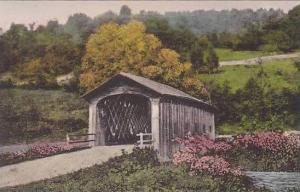 Vermont Dorset Old Coverd Bridge Albertype