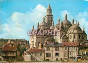 Modern Postcard Perigueux (Dordogne) The Cathedral St. Front and the Old Mill