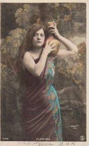 RP: Female Portrait , 1900-10s : #12