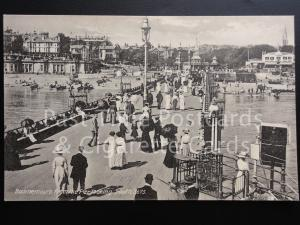 c1906 Dorset: Bournemouth from the pier looking south