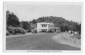 Swift Run Crossroads, Shenandoah National Park Virginia Graycraft White Border