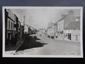 Ireland KILDARE Naas, North Main Street Old RP Postcard by Cardall Ltd