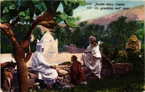 CPA Lehnert & Landrock 652 Jardin dans l'Oasis TUNISIE (873992)