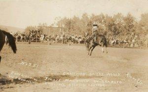 RP: FEMALE RODEO ,  Tillie Baldwin , Pendleton, 1912