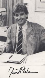 David Phelan Sean Ellison Albion Market Vintage Printed Signed Photo Cast Card