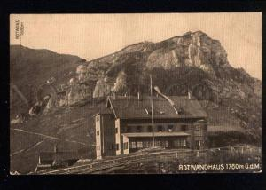 035173 Switzerland Rotwandhaus hotel Vintage PC