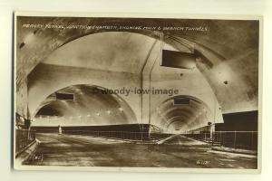 tp7510 - Lancashire - Junction Chamber inside Mersey Tunnel, Liverpool- postcard