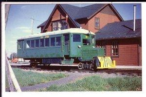 Winnipeg Hydro's Railway Bus, Pointe du Bois Manitoba,