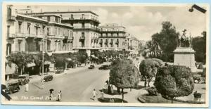 Egypt - Cairo, The Camel Street  *RPPC