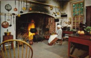 Virginia Williamsburg Governor's Palace Kitchen 1950