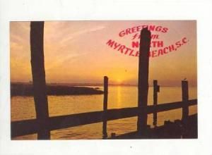 Greetings from North Myrtle Beach, South Carolina, 40-60s