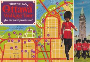 Political Tourist Map, Ottawa Walking Tour, Canadian Royal Mounted Police, Cl...