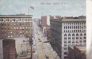 Bird's eye view of Main Street, Buffalo, New York, 00-10s