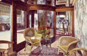 RESTING ROOM, MARBLE LOBBY, HOTEL ALEXANDER LOS ANGELES, CA