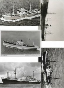Steam Ships RPPC Postcard Lot of 15 01.13