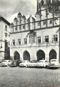 Czech Republic Prague the former school of tyn conscr with gables after Postcard