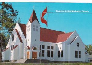 South Carolina Myrtle Beach Socastee United Methodist Church 1989