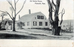 [ N.E. Paper ] US Massachusetts Plymouth - Old Harlow House