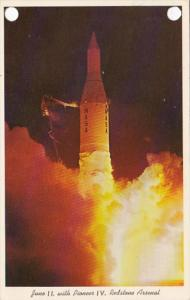 Alabama Huntsville Juno II With Pioneer IV Redstone Arsenal 1968