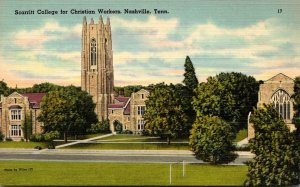 Tennessee Nashville Scarritt College For Christian Workers