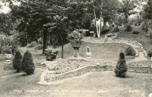 MN - Aitkin. Ak-Sar-Ben Gardens     *RPPC