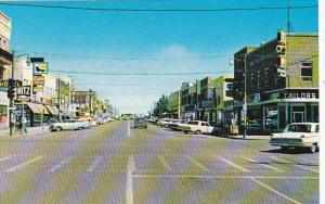 Canada Fifth Street Looking North Lethbridge Alberta