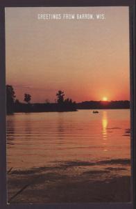 Greetings From Barron,WI,Sunset BIN