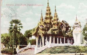 Entrance, Shwe Dagon Pagoda, Rangoon 1911