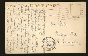 UK Postmarked 1934 London WO Regent Street London Photo Postcard