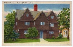 Salem, Mass, Old Witch House, Built 1642