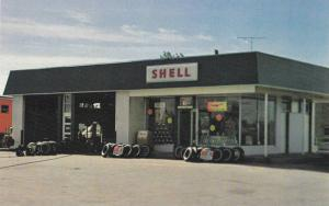 Sam Meharg's SHELL Gas Station & Garage , DON MILLS , Ontario , Canada , 50-60s
