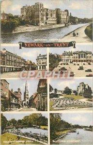 Postcard Modern Newark on Trent Newarzk
