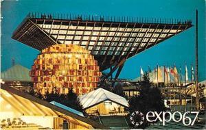 Canada's Pavillion Expo 67 Montreal Quebec Canada
