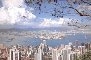 Hong Kong & Kowloon from the Peak -