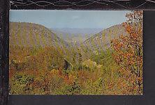 The Gap,Giles County,VA Postcard BIN