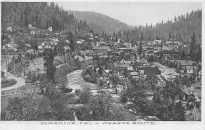 G26/ Dunsmuir California Postcard c1910 Shasta Route Homes