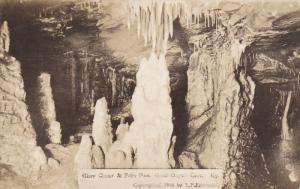 RP: KENTUCKY, 1910-1930´s; Glory Cluster and Fairy Pass, Great Onyx Cave