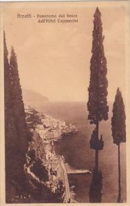 Italy Amalfi Panorama Dal Bosco Dell Hotel Cappucini
