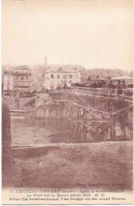France.  Chateau - Thierry - Aisne. 1918
