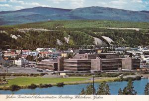 Yukon Territorial Administration Building, WHITEHORSE, Yukon, Canada, 50-80´s
