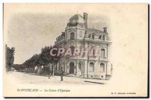 Old Postcard Bank Caisse d & # 39Epargne St Pourcain