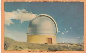 SAN DIEGO COUNTY, The Observatory of the 200 inch telescope, California, 30-40s
