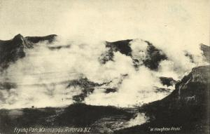 new zealand, ROTORUA, Waimangu Geyser, Frying Pan (1910s)