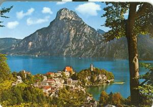 Austria Perlen im Salzkammergut, Traunkirchen, used Postcard