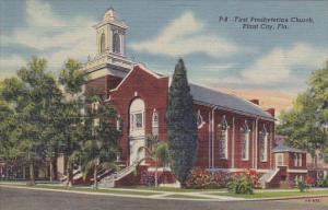 First Presbyterianst Church Plant City Florida Curteich